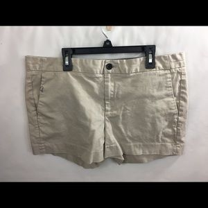Banana Republic Kaki Shorts Woman's Sz 12 NWOT